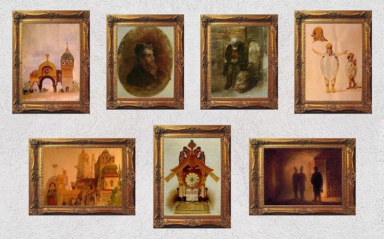 картинки с выставки. гартман