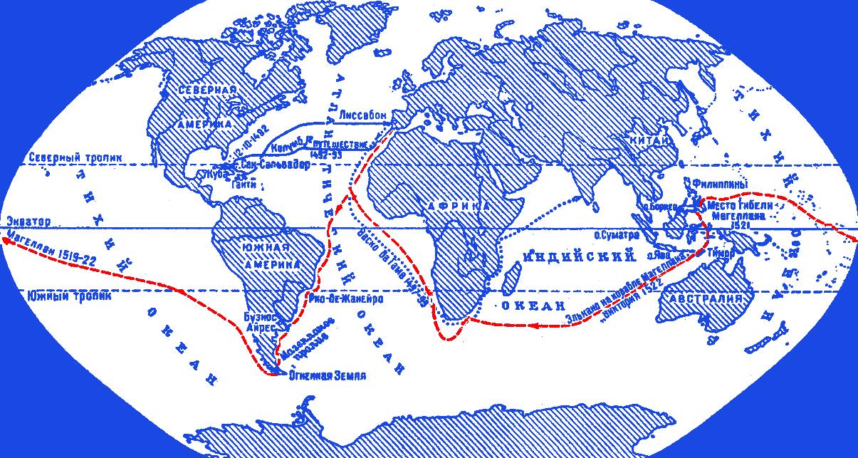 На этой карте – маршрут