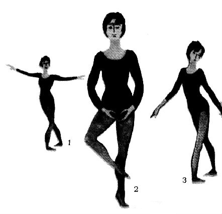 Фото позиций балерин зрелую