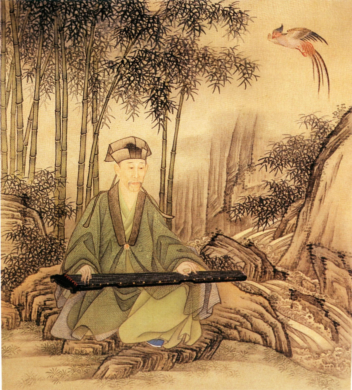 картинки китая музыка древнего