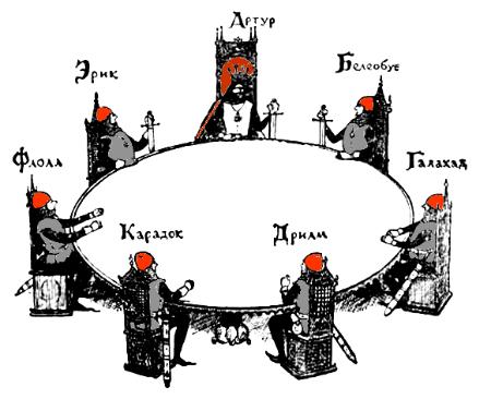картинки король артур и рыцари круглого стола